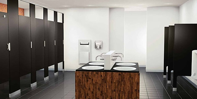 if your project requires specialties like bathroom partitions lockers or motorized window shades contact us for a free quote - Commercial Bathroom Partitions
