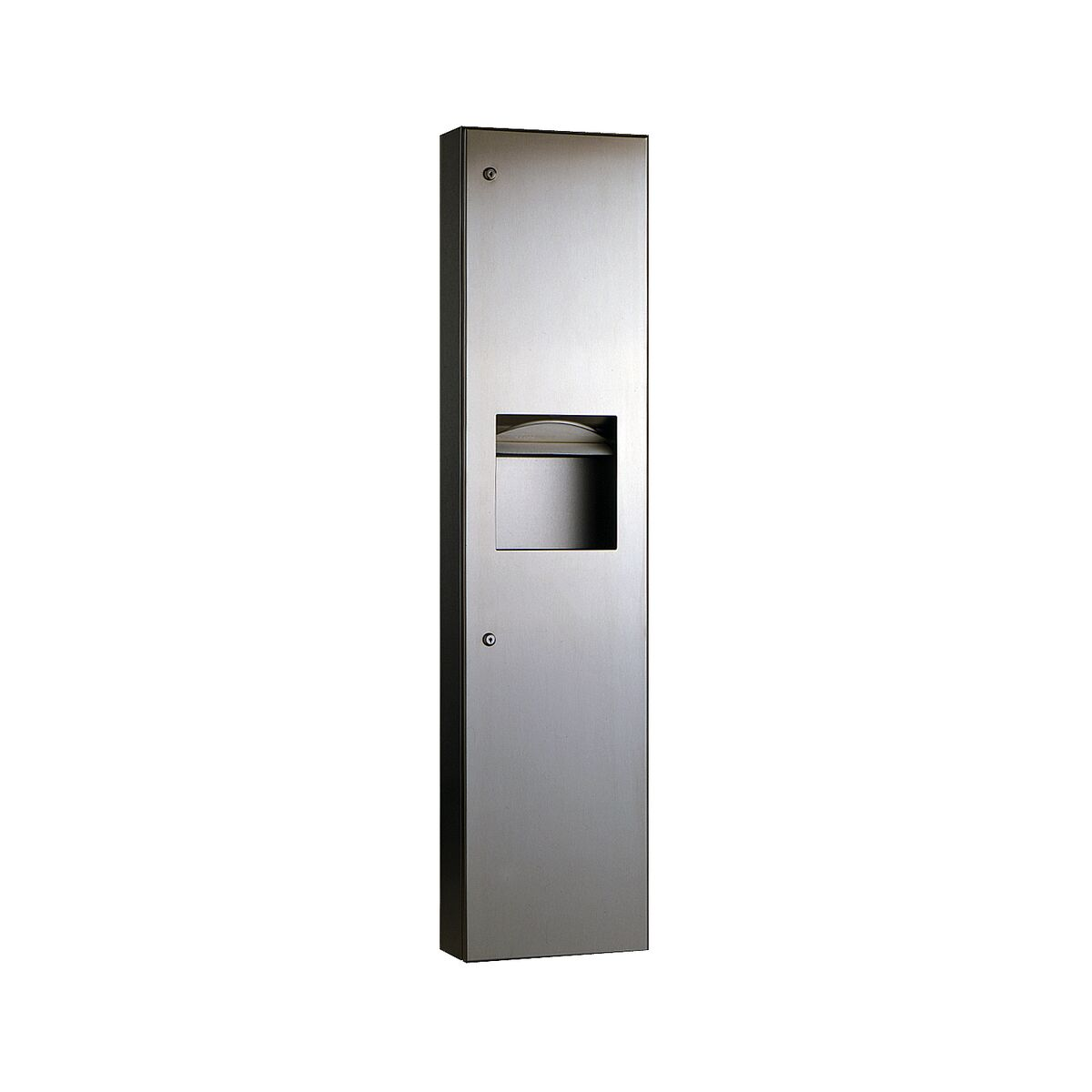 Bobrick Surface Mounted Paper Towel Dispenser Waste