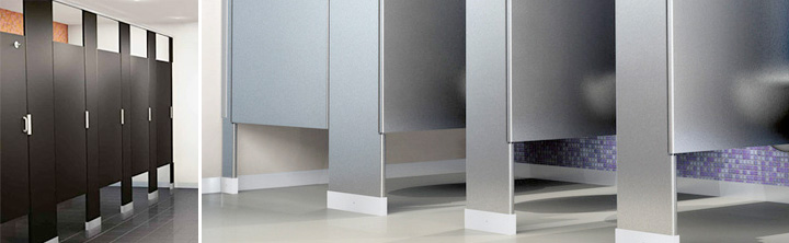 Toilet Partitions In Salt Lake Davis And Utah Counties Cannon - Steel bathroom partitions