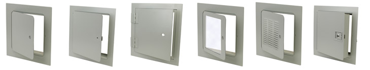 variety of access panels and access doors